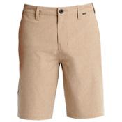 Hurley Phantom Boardwalk Mens Hybrid Shorts, Khaki, medium