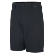 Hurley Phantom Boardwalk Mens Hybrid Shorts, Black, medium