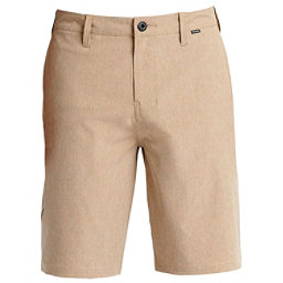 Hurley Phantom 21 Inch Walk Mens Hybrid Shorts, Khaki, 256