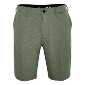 Hurley Phantom 21 Inch Walk Mens Hybrid Shorts, Palm Green, medium