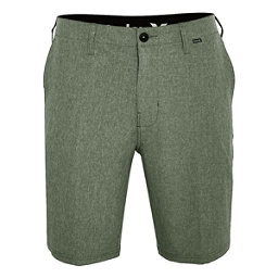Hurley Phantom 21 Inch Walk Mens Hybrid Shorts, Palm Green, 256