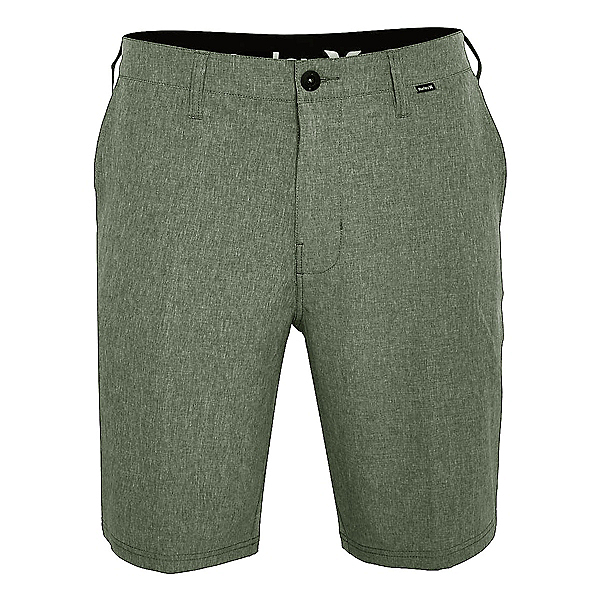 Hurley Phantom 21 Inch Walk Mens Hybrid Shorts, Palm Green, 600