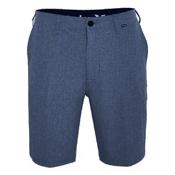 Hurley Phantom 21 Inch Walk Mens Hybrid Shorts, Obsidian, medium