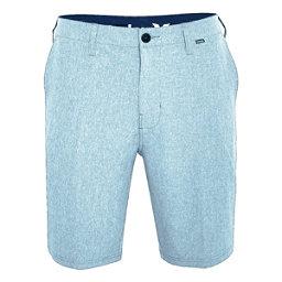 Hurley Phantom 21 Inch Walk Mens Hybrid Shorts, Still Blue, 256