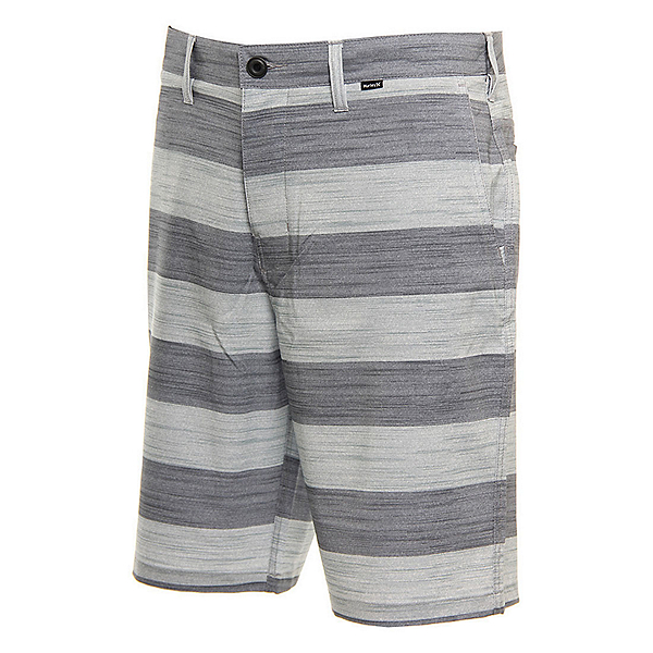 Hurley Phantom Novato Mens Board Shorts, Cool Grey, 600
