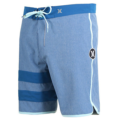 Hurley Phantom Block Party Heather Boardshorts, Court Blue, viewer
