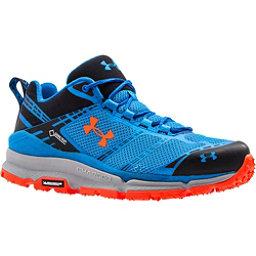 Under Armour Verge Low GTX Mens Shoes, Blue Jet-Superior Blue-Bolt Or, 256