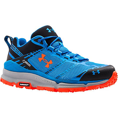 Under Armour Verge Low GTX Mens Shoes, Blue Jet-Superior Blue-Bolt Or, viewer
