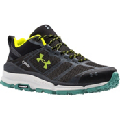 Under Armour Verge Low GTX Mens Shoes, Black-Stealth Gray-Velocity, medium