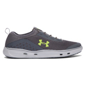 Under Armour Kilchis Mens Watershoes, Rhino Gray-Elemental-Smash Yel, medium