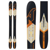 Nordica NRGy 107 Skis, Black-Orange, medium