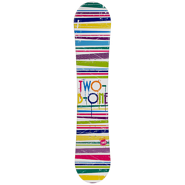 2B1 Paint White Womens Snowboard, , 600