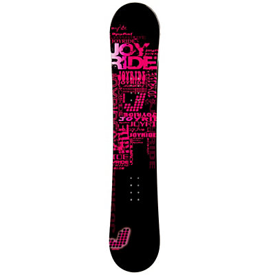 JoyRide Text Pink Womens Snowboard, , viewer