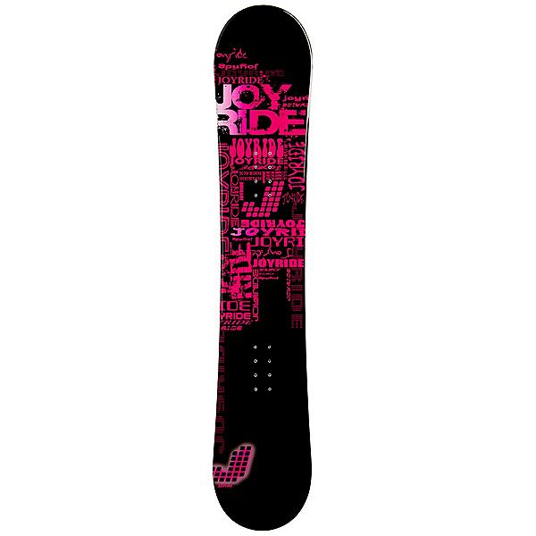 JoyRide Text Pink Womens Snowboard, , 600