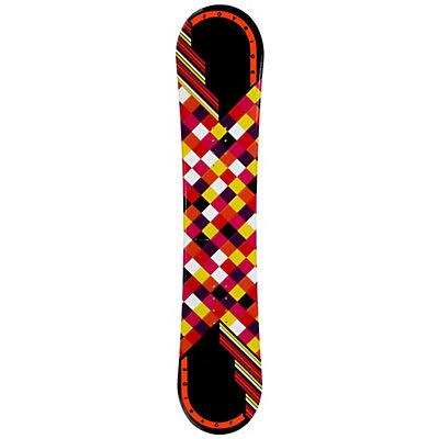 JoyRide Checkers Black Womens Snowboard, , viewer