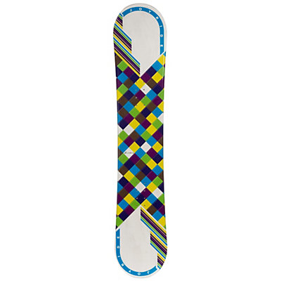 JoyRide Checkers White Blue Womens Snowboard, , viewer