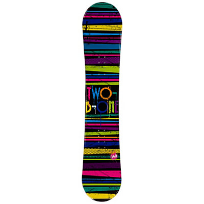 2B1 Paint Black Rocker Womens Snowboard, , viewer