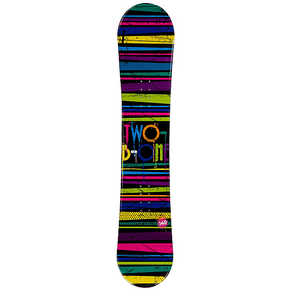 2B1 Paint Black Rocker Blem Womens Snowboard, , 600