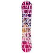 Airwalk Laser Pink Womens Snowboard, , medium