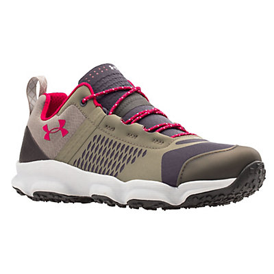Under Armour Speedfit Hike Low Womens Shoes, Charcoal-Stoneleigh Taupe-Fury, viewer