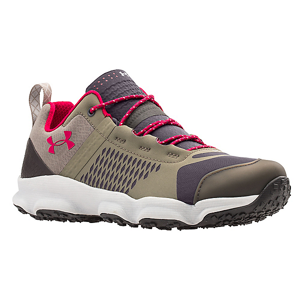 Under Armour Speedfit Hike Low Womens Shoes, Charcoal-Stoneleigh Taupe-Fury, 600