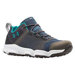 Under Armour Speedfit Hike Low Womens Shoes, Mechanic Blue-Charcoal-Emerald, 256