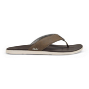 OluKai Holona Mens Flip Flops, Mustang-Dark Java, medium
