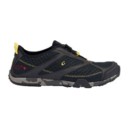 OluKai 'Eleu Trainer Mens Watershoes, Black-Black, 256
