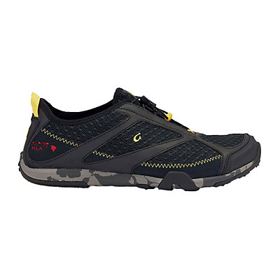 OluKai 'Eleu Trainer Mens Watershoes, Black-Black, viewer