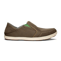 OluKai Nohea Mesh Mens Shoes, Mustang-Lime Peel, 256