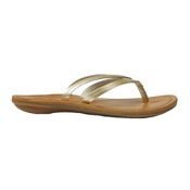 OluKai U'I Womens Flip Flops, Bubbly-Sahara, medium