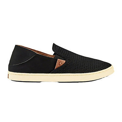 OluKai Pehuea Womens Shoes, Black-Black, viewer