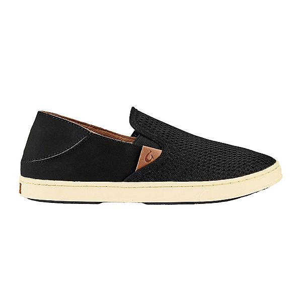 OluKai Pehuea Womens Shoes, Black-Black, 600