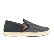 OluKai Pehuea Womens Shoes, Charcoal-Dark Shadow, medium