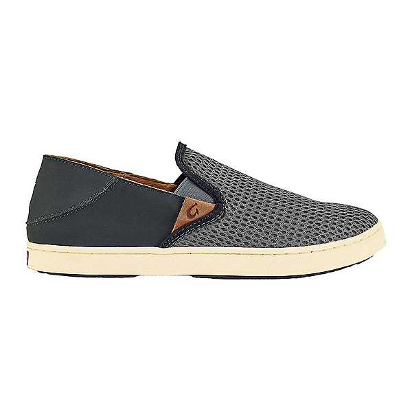 OluKai Pehuea Womens Shoes, Charcoal-Dark Shadow, 600