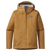 Patagonia Torrentshell Mens Jacket, Oaks Brown, medium
