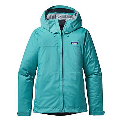 Patagonia Torrentshell Womens Jacket, Howling Turquoise, viewer
