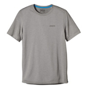Patagonia Nine Trails Short Sleeve Mens T-Shirt, Drifter Grey, medium