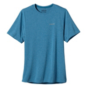 Patagonia Nine Trails Short Sleeve T-Shirt, Underwater Blue, medium