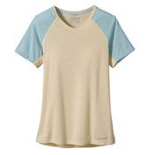 Patagonia Nine Trails Womens T-Shirt, Light Sesame, medium