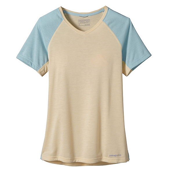 Patagonia Nine Trails Womens T-Shirt, Light Sesame, 600