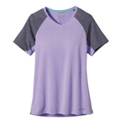 Patagonia Nine Trails Womens T-Shirt, Ploy Purple, medium