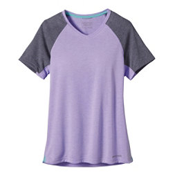 Patagonia Nine Trails Womens T-Shirt, Ploy Purple, 256