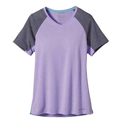 Patagonia Nine Trails Womens T-Shirt, Light Sesame, viewer