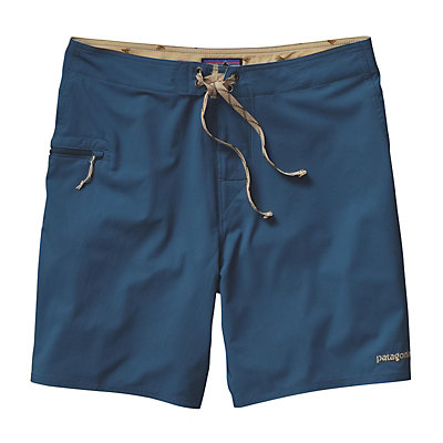 Patagonia Solid Stretch Planing 18in Mens Board Shorts, Spanish Moss, viewer