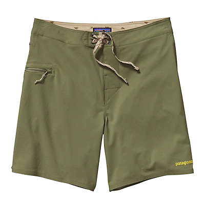 Patagonia Solid Stretch Planing 18in Boardshorts, Spanish Moss, viewer
