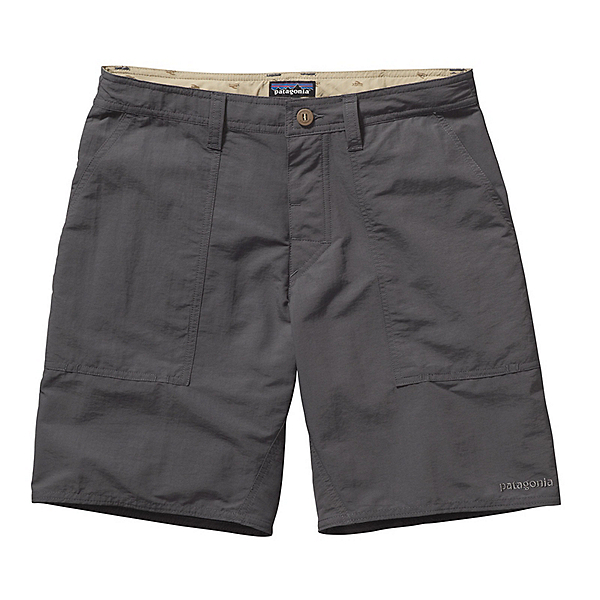 Patagonia Wavefarer Stand Up Mens Board Shorts, Forge Grey, 600