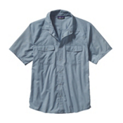 Patagonia Bandito Mens Shirt, Chambray Glass Blue, medium