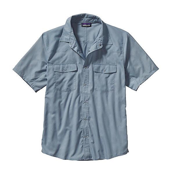 Patagonia Bandito Mens Shirt, Chambray Glass Blue, 600