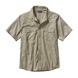 Patagonia Bandito Mens Shirt, Chambray Spanish Moss, 256